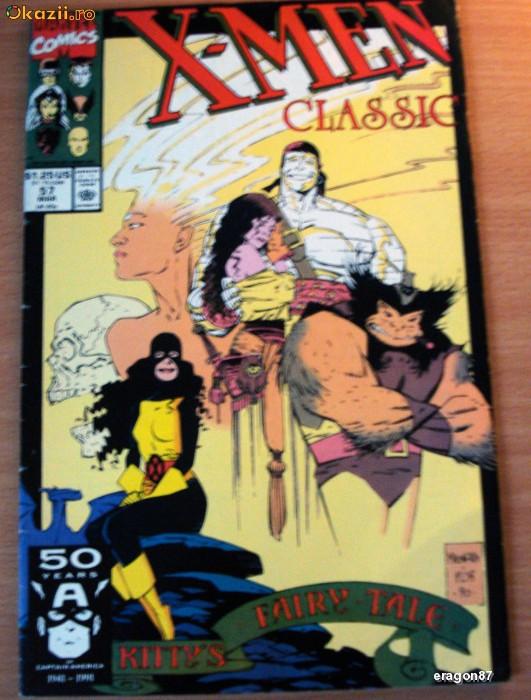 X-Men Classic #57 . Marvel Comics foto mare