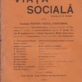 7 reviste Viata Sociala 1910-1911 (dir.N.D.Cocea)