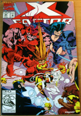 X-Factor #80 - Marvel Comics foto