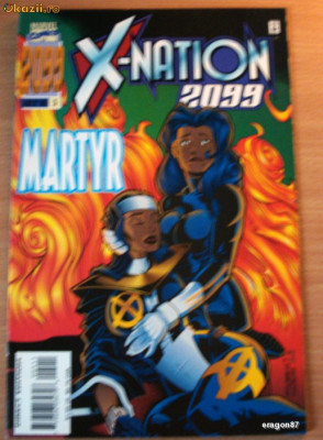 X-Nation 2099 #5 foto
