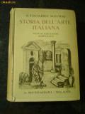 Storia Dell'Arte Italiana - Edoardo Mottini - (istoria artei italiene} - 1940