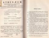 ATHENAEUM - revista liceelor militare pe anul 1939