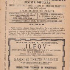 5 buc. Comoara Satelor - revista populara (1911, Bucuresti) - Carte de aventura