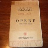 EMIL ISAC - Opere (1946)