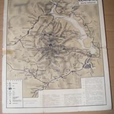 Harta Muntii Ceahlau