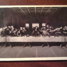Carte postala anul 1938 milano cina cea de taina