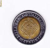 ITALIA BIMETAL JUBILIARA -100 ANI BANCA CENTRALA-