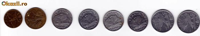 LOT COMPLET DE MONEDE IUGOSLAVIA 1955/63