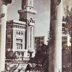 R 4947 Ploiesti Turnul halelor centrale Necirculata - Carte Postala Muntenia dupa 1918