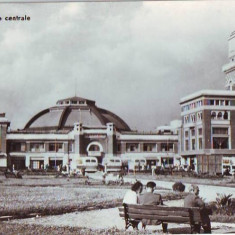 R 4924 Ploiesti Halele centrale Circulata - Carte Postala Muntenia dupa 1918