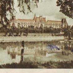R 4677 Iasi Palatul Culturii Circulata - Carte Postala Moldova dupa 1918