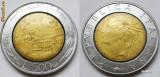 ITALIA 500 LIRE 1995 BIMETAL **