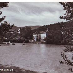 R 6167 Calimanesti Pod peste Olt Necirculata - Carte Postala Oltenia dupa 1918