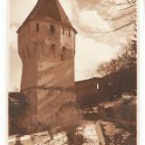 CFL 1925 ilustrata foto turn medieval Sighisoara