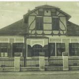 CFL 1915 Transilvania -  ilustrata din Cristian judetul Brasov , casa parohiala