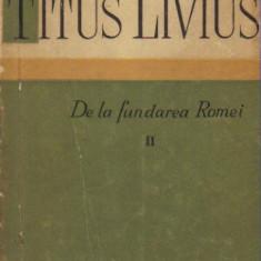 Titus Livius - De la fundarea Romei ( vol II )