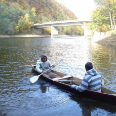 Vand barca de tip canoe - Barca Pescuit