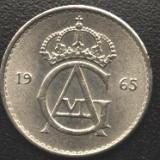 Suedia 10 ORE 1965 monograma Gustav VI. XF/a.UNC, Europa