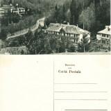 Carte postala ilustrata Slanic Moldova-Administratia si Cazinoul