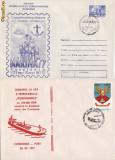 Set 2  plicuri vapoare -vasul Independenta,   bricul Mircea