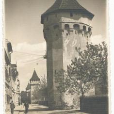 CFL 1942 ROMANIA  ilustrata cenzurata Sibiu - turnurile