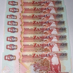ZAMBIA 2008 - 50 KWACHA - LOT 10 BUC.- UNC