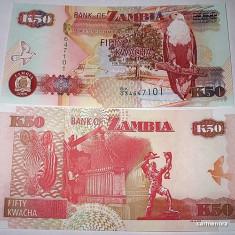 ZAMBIA 2008 - 50 KWACHA - UNC