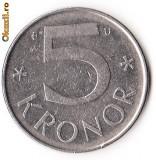 SUEDIA 5 KRONOR 1985