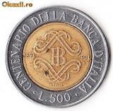 ITALIA 500 LIRE 1993