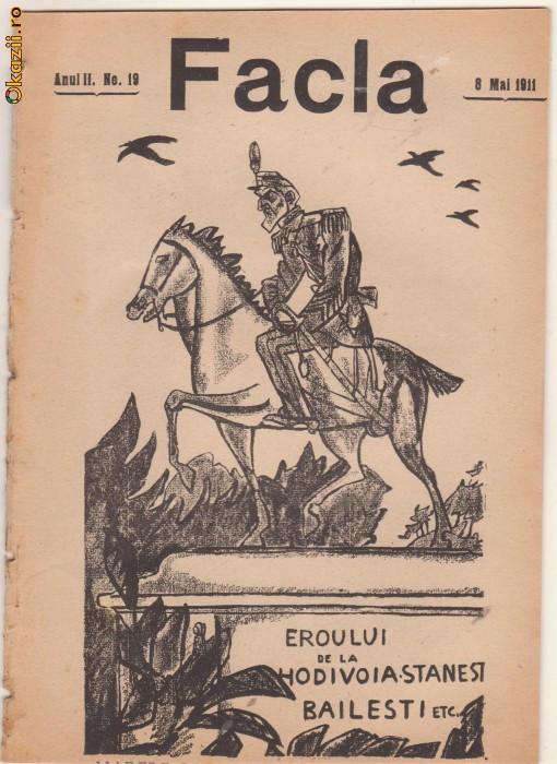 Revista FACLA : Carol I (caricatura,1911)