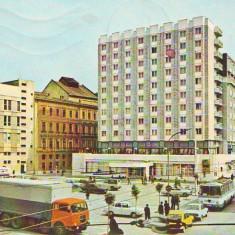 S 3950 Timisoara Hotel Timisoara circulata - Carte Postala Banat dupa 1918