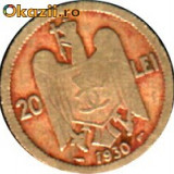 MONEDA 20 LEI 1930 - Moneda Romania