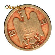 MONEDA 20 LEI 1930
