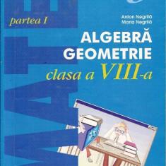 Mate 2000 +3 -Algebra, geometrie - clasa a VIII-a - Manual scolar paralela 45, Clasa 8, Paralela 45, Matematica