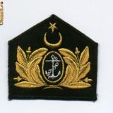 S1.INSEMN CASCHETA COMANDANT NAVA MILITARA TURCEASCA.