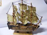 MACHETA NAVA,,H.M.S.VICTORY  1805-STARE EXCELENTA
