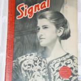 Revista de RAZBOI SIGNAL Germana Nr.8 1941 Nr. 2 APRILIE 3 - Fotografie veche