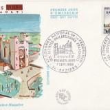 FDC Franta -Biserica Saint Nazaire -istorica, geografica
