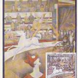 Maxima Franta -pictura- Seurat