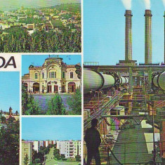 S 4267 Turda circulata - Carte Postala Transilvania dupa 1918