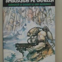 AMBUSCADA PE ORNELLA - Daniel Walther ( sf ) - Carte SF