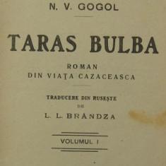 Gogol, Taras Bulba, 1908 - Carte Editie princeps