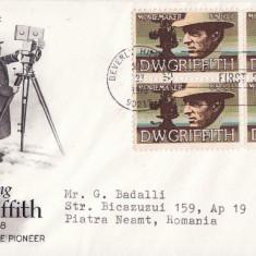 FDC SUA -Griffith-Pionierul filmului
