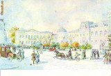 S6243 BUCURESTI Piata si vechiul palat regal NECIRCULAT