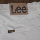 Blugi jeans pantaloni LEE originali W30 L32 -model 2010 de vara - Blugi barbati Jordache