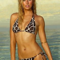 VICTORIA'S SECRET - costum baie XS/S, chilot inalt, chic! - Costum de baie Victoria's Secret, Marime: Alta, Doua piese, Bikini