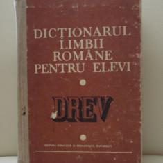 Dictionarul limbii romane pentru elevi (DREV)