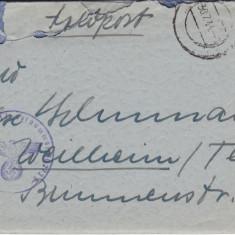 PLICURI CENZURATE MILITAR GERMANIA CNZ 2 redus - Plic Papetarie