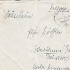 PLICURI GERMANIA, CENZURA MILITARA, CNZ 6 redus - Plic Papetarie