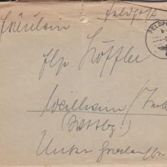 PLICURI GERMANIA, CENZURA MILITARA, CNZ 9 redus - Plic Papetarie